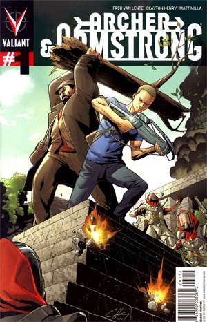 Archer & Armstrong Vol 2 #1 2nd Ptg