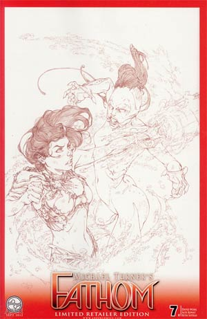 Fathom Vol 4 #7 Cvr C Alex Konat Sketch Cover