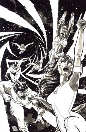 Hypernaturals #3 Incentive Wes Craig Virgin Sketch Cover