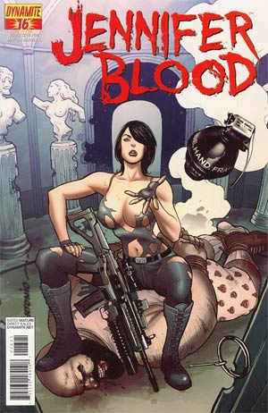 Garth Ennis Jennifer Blood #16 Incentive Lui Antonio Risque Variant Cover