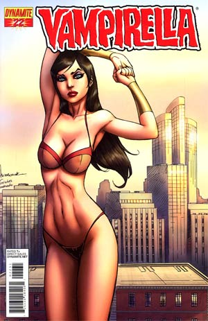 Vampirella Vol 4 #22 Incentive Ale Garza Risque Cover
