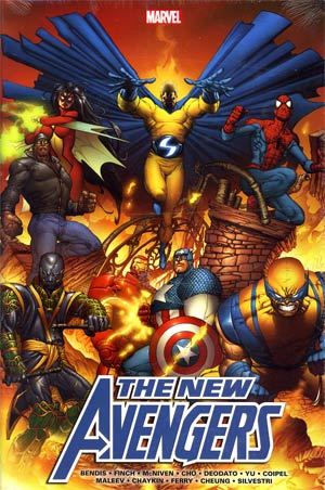 New Avengers Omnibus Vol 1 HC Direct Market Joe Quesada Variant Cover