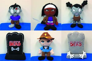 Walking Dead Plush - Grey Tombstone