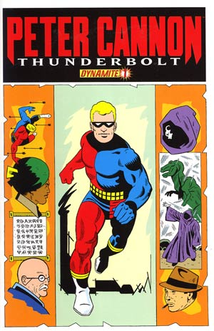 Peter Cannon Thunderbolt Vol 2 #1 Incentive Pete Morisi Classic Retro Variant Cover