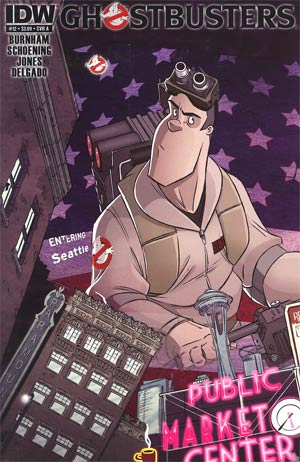 Ghostbusters #12 Regular Cover A Dan Schoening