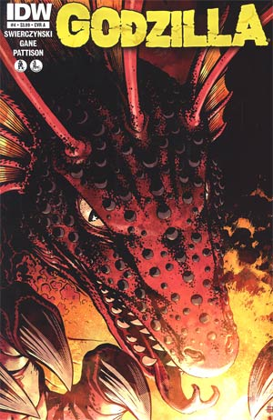 Godzilla Vol 2 #4 Regular Cover A Zach Howard