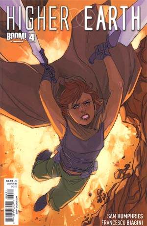Higher Earth #4 Regular Cover B Phil Noto