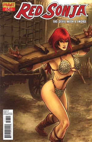 Red Sonja Vol 4 #68 Fabiano Neves Cover
