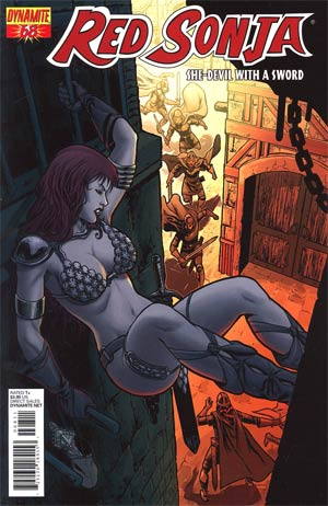 Red Sonja Vol 4 #68 Walter Geovani Cover