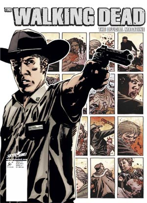 Walking Dead The Official Magazine #1 Midtown Exclusive Rick Grimes Cover