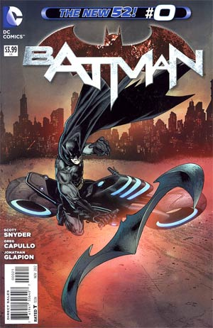 Batman Vol 2 #0 Variant Andy Clarke Cover