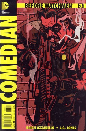 Before Watchmen Comedian #3 Incentive John Paul Leon Variant Cover