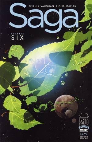 Saga #6 2nd Ptg