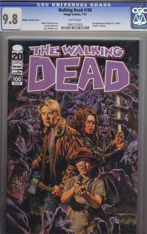Walking Dead #100 1st Ptg Regular Cover E Sean Phillips CGC 9.8