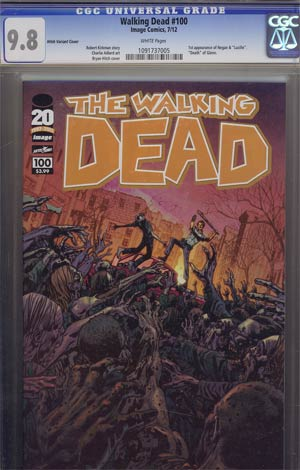 Walking Dead #100 1st Ptg Regular Cover F Bryan Hitch CGC 9.8