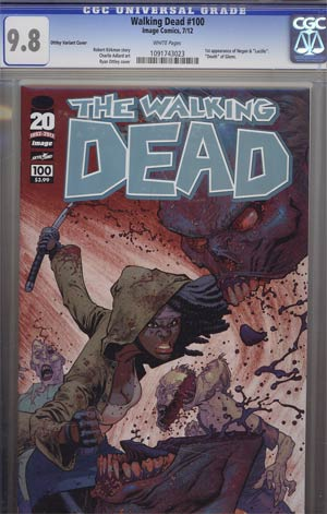 Walking Dead #100 1st Ptg Regular Cover G Ryan Ottley CGC 9.8