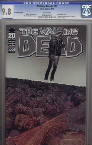 Walking Dead #100 Chromium Edition CGC 9.8