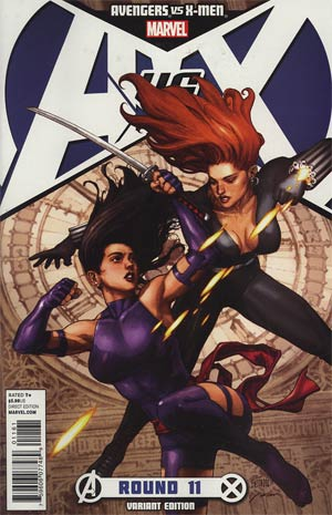 Avengers vs X-Men #11 Incentive Promo Variant Cover