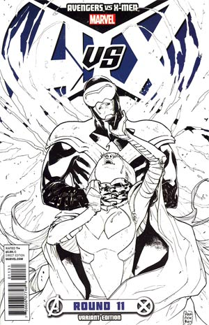 Avengers vs X-Men #11 Cover F Incentive Sara Pichelli Sketch Cover