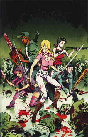 Fanboys vs Zombies #6 Incentive Felipe Smith Virgin Variant Cover