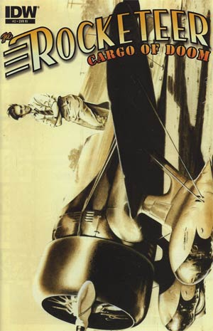Rocketeer Cargo Of Doom #2 Incentive Dave Stevens Variant Cover