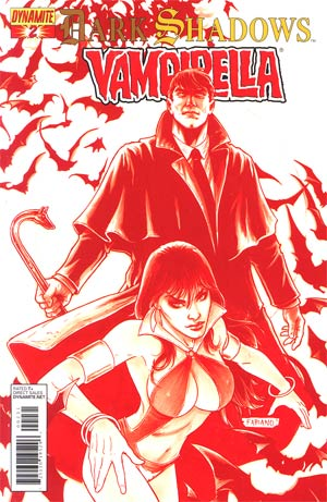 Dark Shadows Vampirella #2 Incentive Fabiano Neves Spot Color Cover