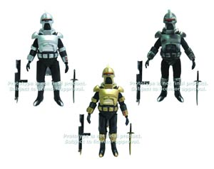 Battlestar Galactica Cylon 8-Inch Action Figure - Battle-Damaged Cylon