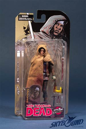 Walking Dead Bloody Michonne SDCC Exclusive Action Figure