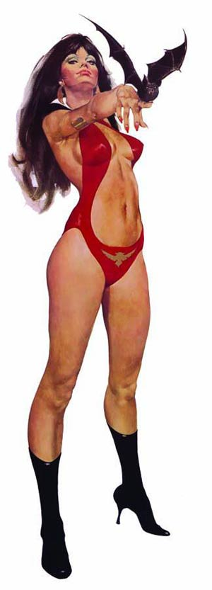 Vampirella Jose Gonzalez Vintage 40th Anniversary Poster New Printing