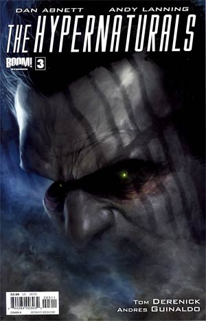 Hypernaturals #3 Regular Cover A Francesco Mattina
