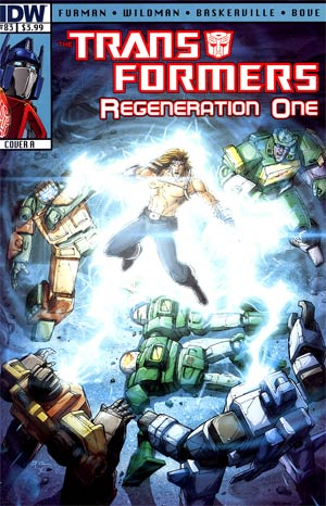 Transformers Regeneration One #83 Regular Cover A Andrew Wildman