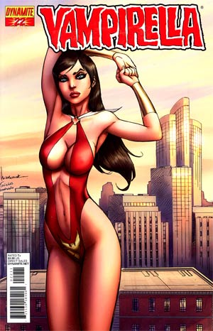 Vampirella Vol 4 #22 Regular Ale Garza Cover