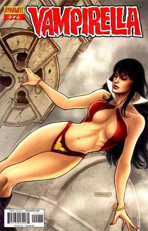 Vampirella Vol 4 #22 Regular Fabiano Neves Cover