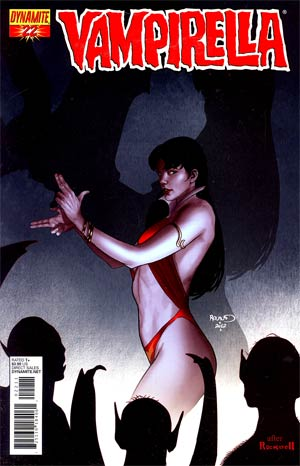 Vampirella Vol 4 #22 Regular Paul Renaud Cover