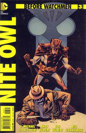 Before Watchmen Nite Owl #3 Incentive Chris Samnee Variant Cover