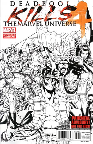Deadpool Kills The Marvel Universe #4 2nd Ptg Variant Cover