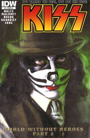 KISS Vol 2 #4 Incentive Michael Gaydos Catman Variant Cover
