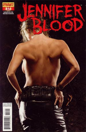 Garth Ennis Jennifer Blood #17 Incentive Tim Bradstreet Risque Art Cover