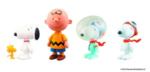 Peanuts Ultra Detail Figure - Snoopy & Woodstock 2-Pack