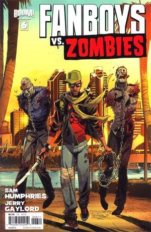 Fanboys vs Zombies #6 Regular Cover A Khary Randolph