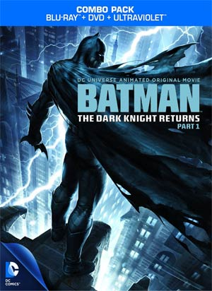 Batman The Dark Knight Returns Part 1 Blu-ray Combo DVD