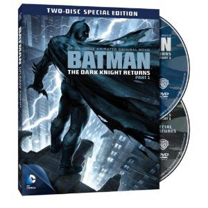 Batman The Dark Knight Returns Part 1 Special Edition DVD