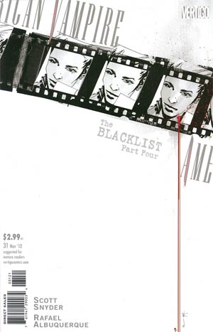 American Vampire #31 Cover B Incentive Francesco Francavilla Variant Cover