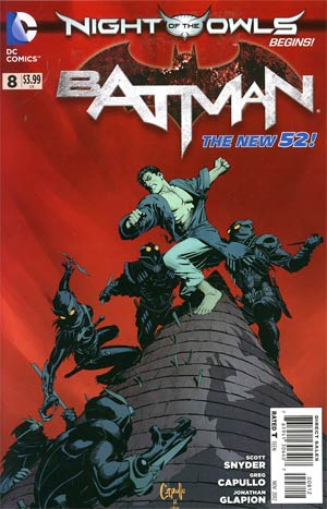 Batman Vol 2 #8 2nd Ptg