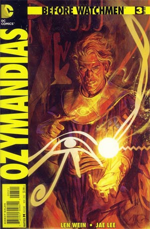 Before Watchmen Ozymandias #3 Incentive Massimo Carnevale Variant Cover