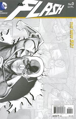 Flash Vol 4 #0 Incentive Francis Manapul Sketch Cover