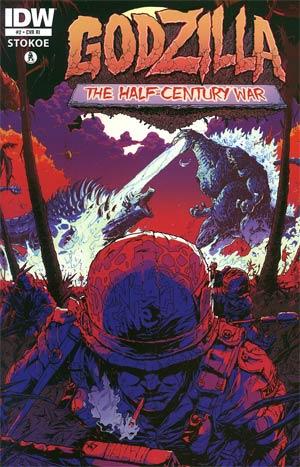 Godzilla Half-Century War #2 Incentive Sheldon Vella Variant Cover