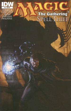 Magic The Gathering Spell Thief #3 Incentive Tyler Walpole Variant Cover