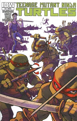 Teenage Mutant Ninja Turtles Vol 5 #14 Incentive Ramon Perez Variant Cover