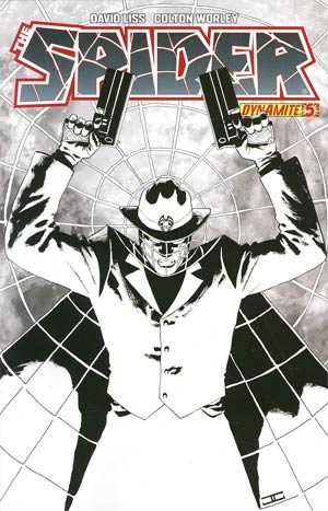 Spider #5 Incentive John Cassaday Black & White Cover